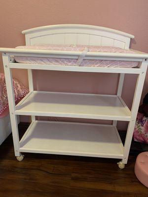 Baby changing table for Sale in Garland, TX