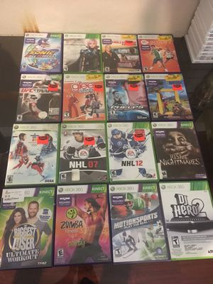 Xbox 360 & Xbox one games for Sale in Arlington, TX