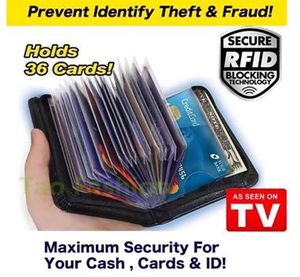 New Design LOCK WALLET Fraud Blocking for Sale in Brownsboro, TX