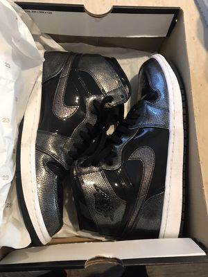 Jordan 1 blk/grey edition (size 10) — brand new for Sale in Portland, OR