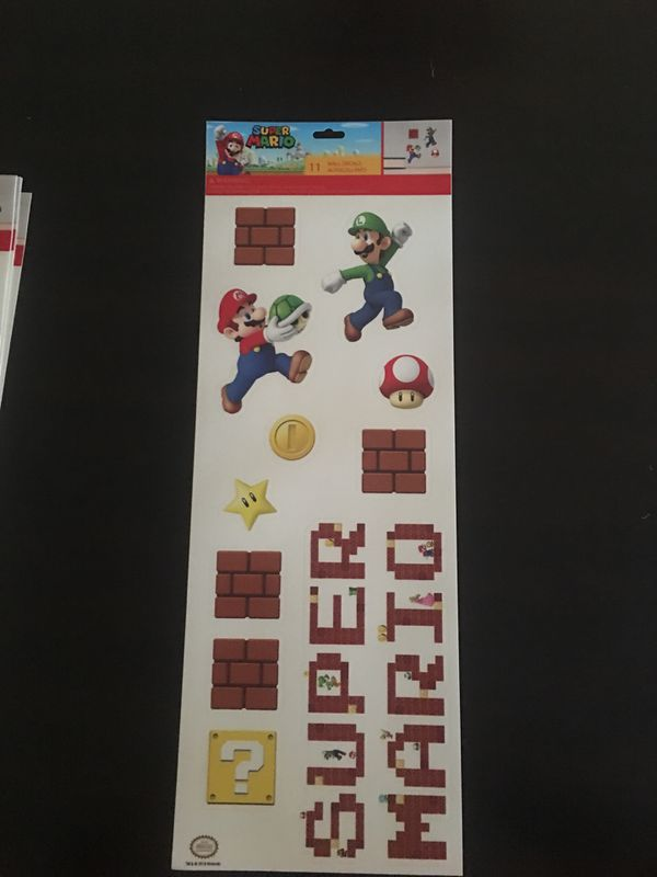 Super Mario Wall Decals For Sale In Moreno Valley Ca