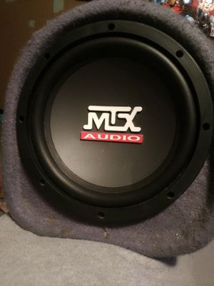 MTX Audio, subwoofer/amplifier all in one combo for Sale in Aberdeen, WA