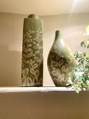 Matching Green Vase Set - Brand New Home Decor for Sale in Scottsdale, AZ