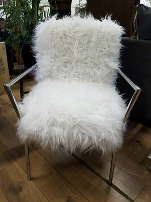 Sheepskin accent chair for Sale in Pittsburgh, PA