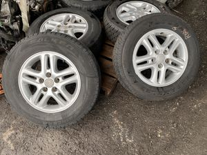 All set rims and tires for Toyota RAV4 2001 2005 for Sale in Opa-locka, FL