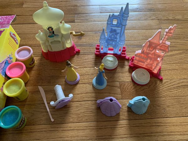 Disney Princess Play Doh Sparkle Kingdom