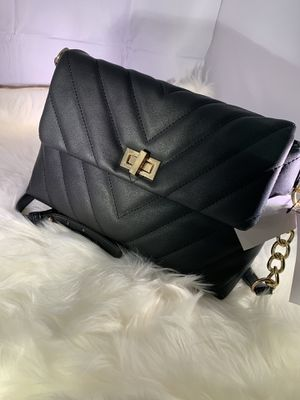 Justfab tote black bag for Sale in College Park, GA