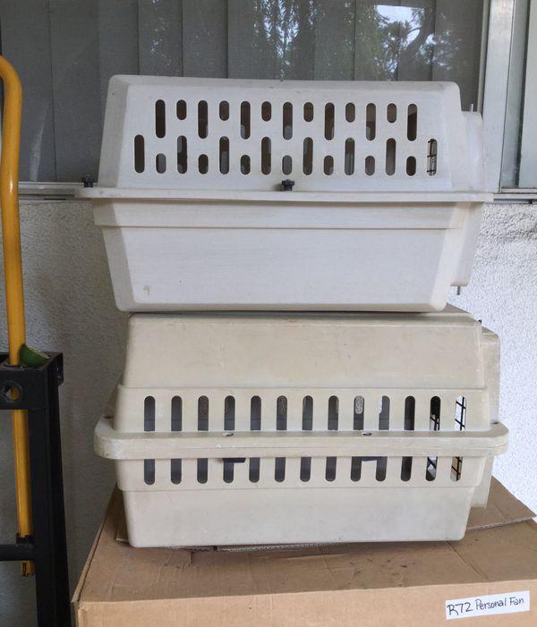 2 small Dog crates