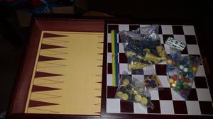Wooden 10 in 1 Game Board for Sale in Puyallup, WA