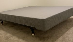 Queen Box Spring & Metal frame for Sale in Henderson, NV