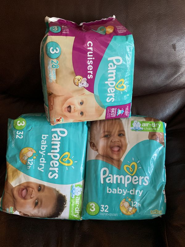 Pampers bundle size 3