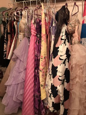 Prom dresses galore for Sale in Winter Haven, FL