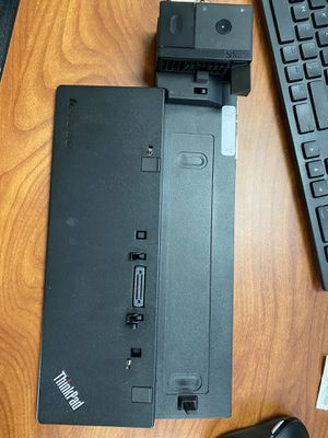 Lenovo thinkpad docking station for Sale in Bellevue, WA