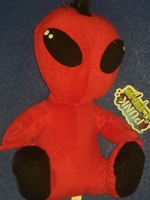 Punk Aliens Red Plushy for Sale in Lakewood, CA