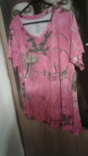 Pink camo shirt for Sale in Street, MD
