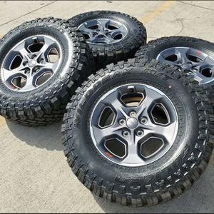 2020 Jeep Rubicon Gladiator Wheels Rims Tires Falken Wildpeak M/T for Sale in Murrieta, CA