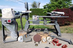 Shopsmith 510 w/ bandsaw - joint - dust collector - lathe - more + make offer for Sale in Vancouver, WA
