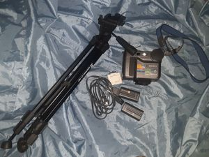 Sony mvc-fd73 digital camera and recorder with 36inch adjustable Tripod for Sale in Austin, TX