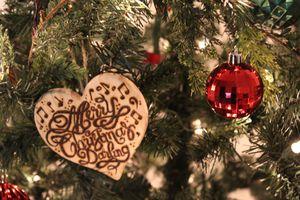 Custom handwritten wood-burnt ornaments for Sale in Chino Hills, CA