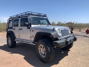 2007 Jeep Wrangler X Unlimited 4x4 for Sale in Phoenix, AZ