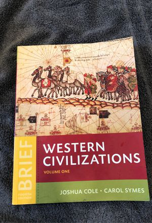 Western Civilization volume 1 for Sale in Winsted, CT