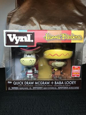 Quick Draw McGraw & Baba Looey 2-Pack SDCC 2018 Exclusive Funko Pop for Sale in New York, NY