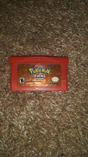 Pokemon fire red version for Sale in Menifee, CA