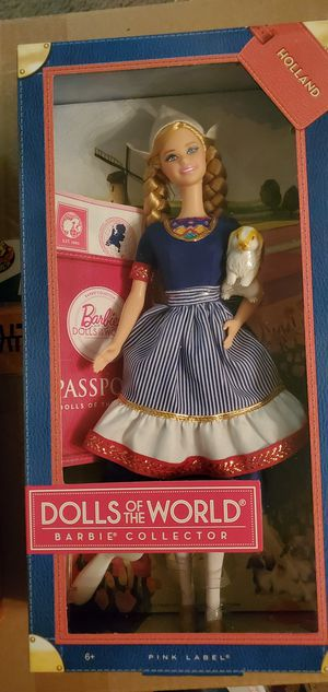 Barbie DOLLS OF THE WORLD Holland for Sale in Gilbert, AZ