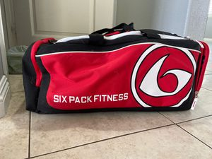 Six pack Fitness Travel Duffle Bag for Sale in Westminster, CA
