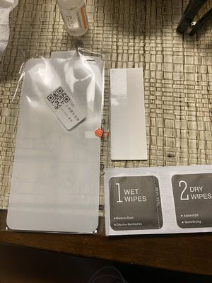 iPhone 11 Pro Max screen protector for Sale in Copiague, NY