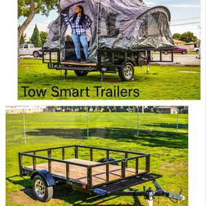Utility Camping Tent Trailer 5 X 7 for Sale in Norwalk, CA