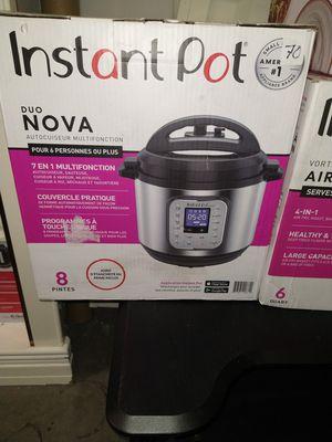 Instant pot duo Nova pressure cooker for Sale in Los Nietos, CA