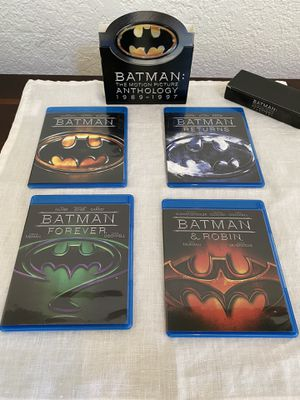 Batman Anthology Blu-Ray for Sale in Fresno, CA