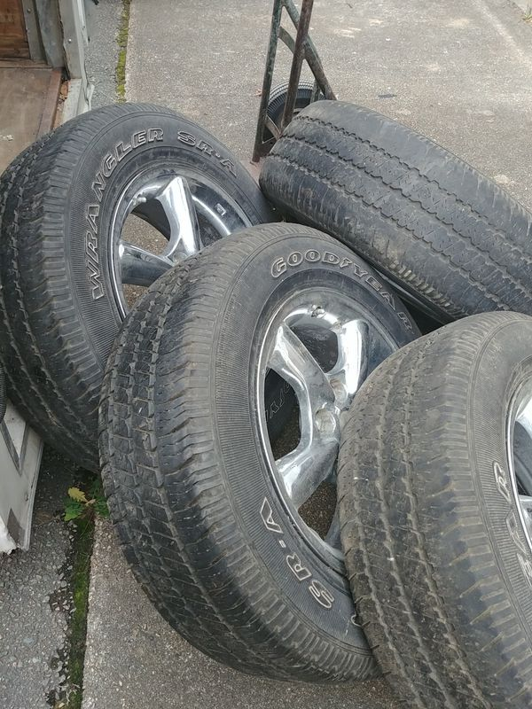 "17 "" Jeep Wheels"