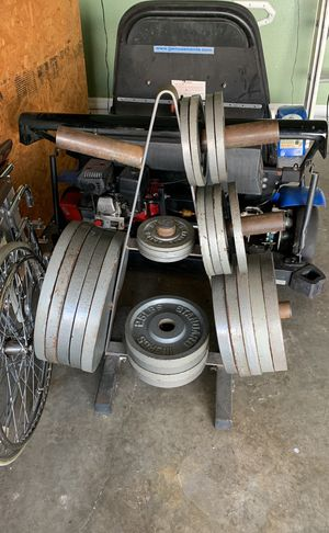 Set of weight plates for Sale in Kissimmee, FL