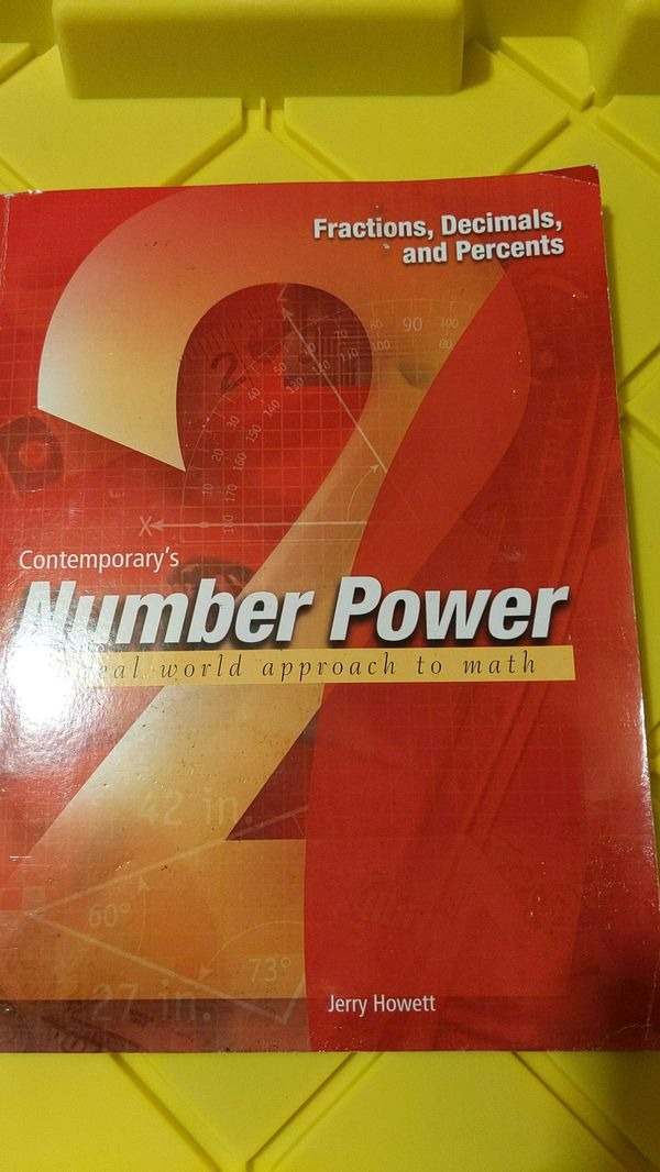 Number Power 2: Fractions, Decimals, and Percents by Howett, Jerry