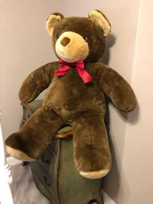 GIANT 4' Tall Teady Bear for Sale in Cape May Court House, NJ