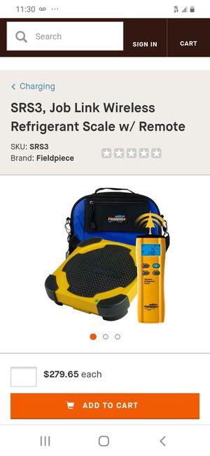 Fieldpiece digital wireless scale for Sale in San Jose, CA