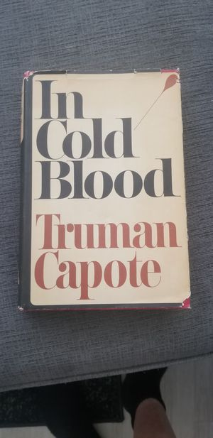 In Cold Blood Truman Capote Book for Sale in Chevy Chase, MD