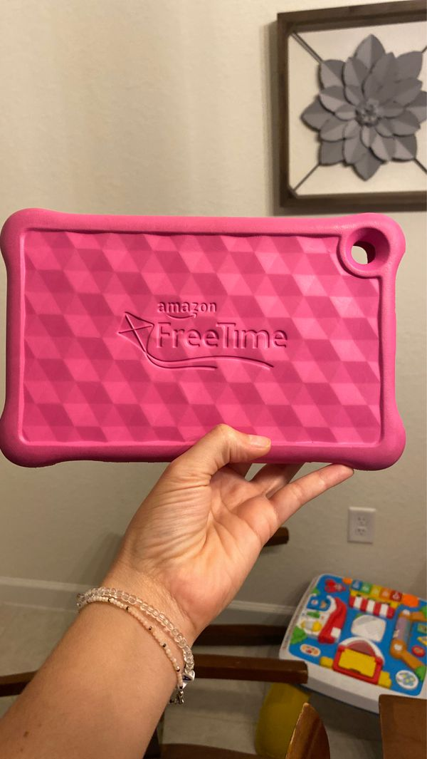 """Pink Kid-Proof Case for Fire HD 8 Kids Edition Tablet, 8"""""""