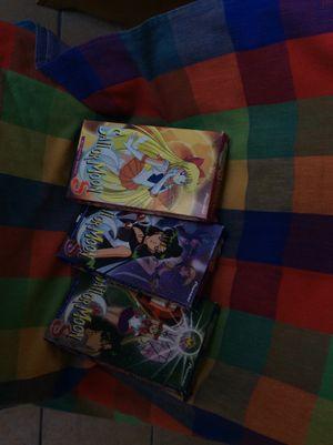 Vintage Sailor Moon movies and Vintage binder for Sale in Lockeford, CA