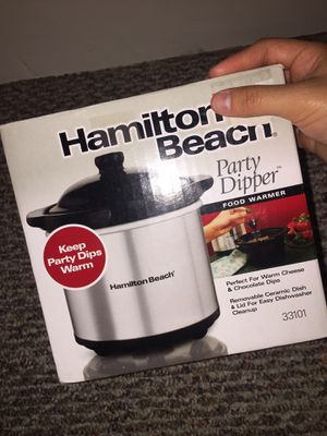 New HAMILTON BEACH Party Dipper, Food Warmer! for Sale in Watsontown, PA