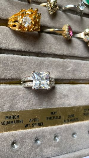 Cubic zirconia ring for Sale in Milan, IL