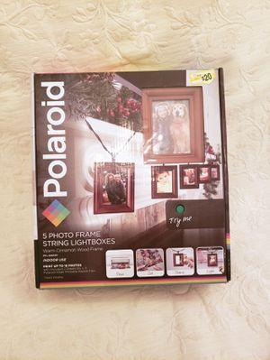 Polaroid 5 Photo Frame String Lightboxes for Sale in Chesapeake, VA