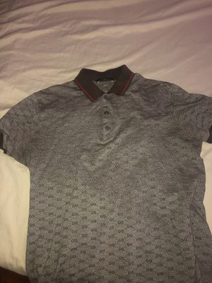 Gucci polo dress shirt fits sizes M Nd S for Sale in Silver Spring, MD