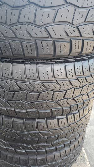 Four very nice COOPER tires for sale. Very strong tires. 265/70/17 for Sale in Washington, DC