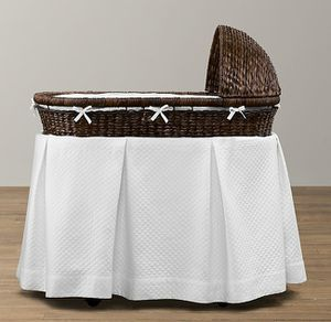 Restoration Hardware Bassinet - Espresso for Sale in Alexandria, VA