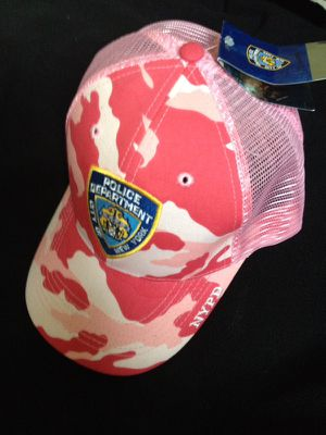 NYPD camo/pink baseball hat for Sale in Matthews, NC