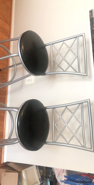 Bar stools 6 mo old set of 2 for Sale in West McLean, VA