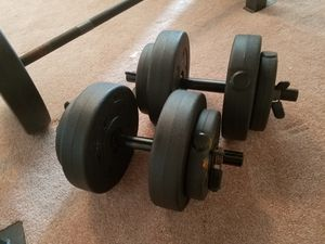 140lbs weight set. for Sale in Chesapeake, VA